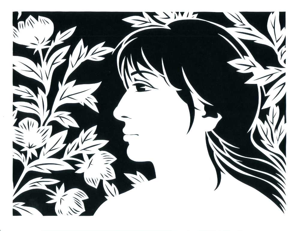 Eve - Paper Cut Art picture